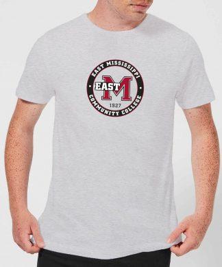 T-Shirt Homme College Seal - East Mississippi Community College - Gris - XS - Gris chez Casa Décoration