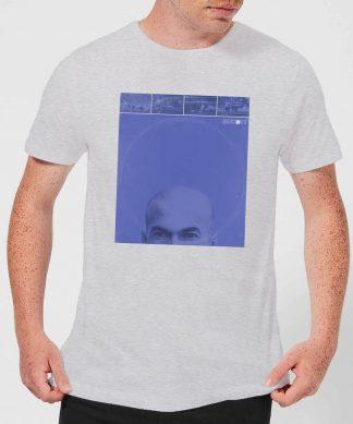 T-Shirt Homme Shoot! Zidane Zizou - Gris - XS - Gris chez Casa Décoration