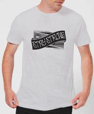 Stay Strong Ribbon Men's T-Shirt - Grey - XS - Gris chez Casa Décoration