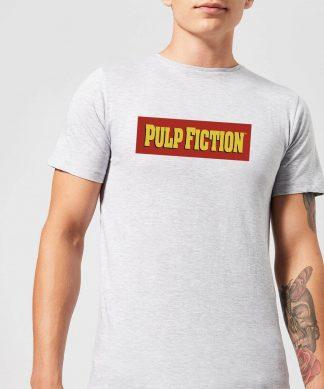 T-Shirt Homme Logo Pulp Fiction - Gris - XS - Gris chez Casa Décoration