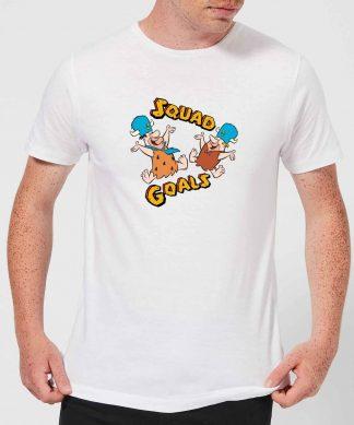 T-Shirt Homme La Famille Pierrafeu - Squad Goals - Blanc - XS - Blanc chez Casa Décoration