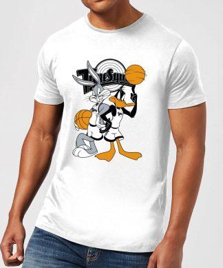 T-Shirt Homme Bugs et Daffy Time Squad Space Jam - Blanc - XS - Blanc chez Casa Décoration