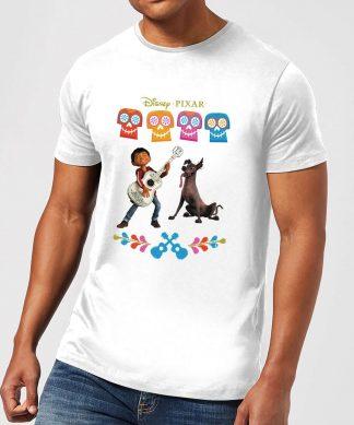 T-Shirt Homme Miguel et Logo Coco - Blanc - XS - Blanc chez Casa Décoration