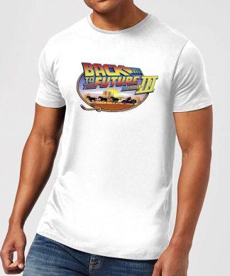 T-Shirt Homme Retour vers le Futur - Lasso - Blanc - XS chez Casa Décoration