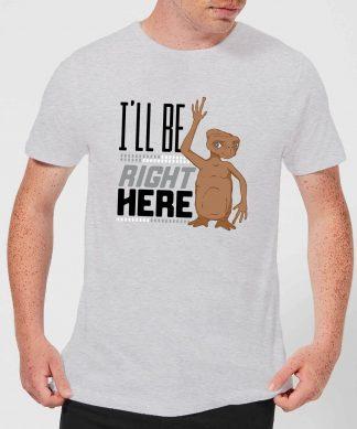 T-Shirt Homme E.T. l'extra-terrestre - Je Suis Toujours Là - Gris - XS - Gris chez Casa Décoration