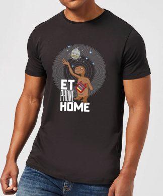 T-Shirt Homme E.T. l'extra-terrestre - Téléphone Maison - Noir - XS chez Casa Décoration
