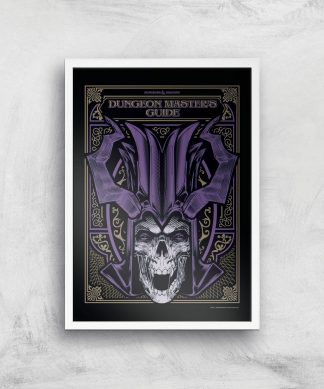 Donjons & Dragons Dungeon Master Giclee Art Print - A4 - White Frame chez Casa Décoration