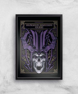 Donjons & Dragons Dungeon Master Giclee Art Print - A4 - Black Frame chez Casa Décoration