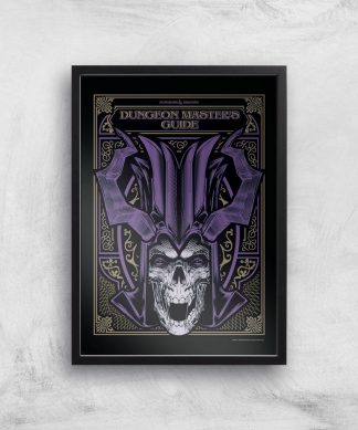 Donjons & Dragons Dungeon Master Giclee Art Print - A3 - Black Frame chez Casa Décoration