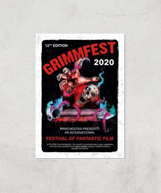 Grimmfest 2020 Tour Giclee Art Print - A4 - Print Only chez Casa Décoration