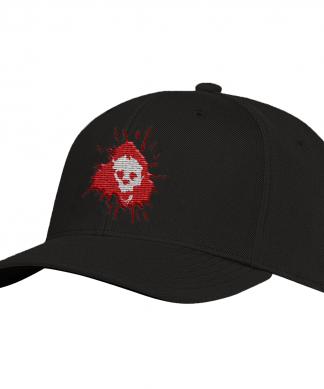 Grimmfest 2020 Skull Logo Embroidered Cap chez Casa Décoration