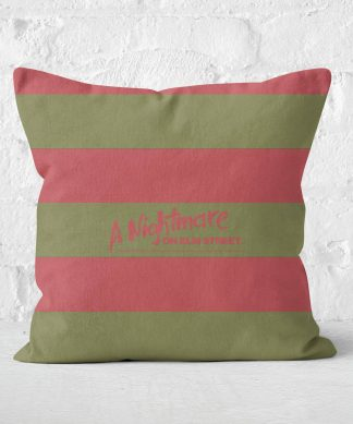 A Nightmare On Elm Street FRougedy Krueger Coussin - 60x60cm - Soft Touch chez Casa Décoration