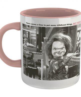 Chucky Childs Play 2 Tasse Tasse - Blanc/Pink chez Casa Décoration