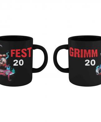 Grimmfest 2020 Mug - Black chez Casa Décoration