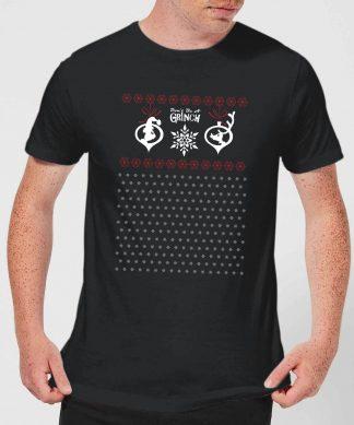 T-Shirt de Noël Homme Le Grinch - Motifs Festifs - Noir - XS - Noir chez Casa Décoration