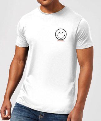 T-Shirt Homme Pocket Smiley - Smiley World - Blanc - XS - Blanc chez Casa Décoration