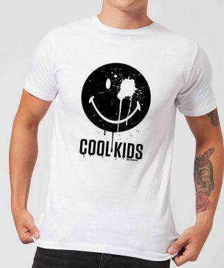 Smiley World Slogan Cool Kids Men's T-Shirt - White - XS - Blanc chez Casa Décoration
