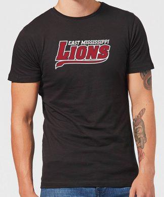 T-Shirt Homme Logo Lions Script - East Mississippi Community College - Noir - XS - Noir chez Casa Décoration