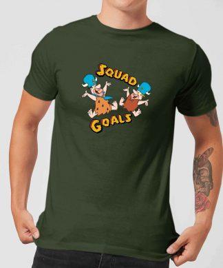 T-Shirt Homme La Famille Pierrafeu - Squad Goals - Vert - XS - Forest Green chez Casa Décoration