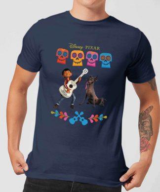 T-Shirt Homme Miguel et Logo Coco - Bleu Marine - XS chez Casa Décoration