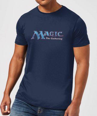 T-Shirt Homme Logo Vintage 93 - Magic : The Gathering - Bleu - XS chez Casa Décoration