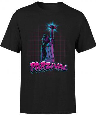 T-Shirt Homme Ready Player One Parzival Key - Noir - XS chez Casa Décoration
