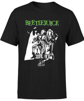 T-Shirt Homme Affiche Mono Beetlejuice - Noir - XS chez Casa Décoration