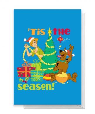 Scooby Doo 'Tis The Season Greetings Card - Giant Card chez Casa Décoration