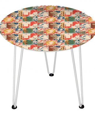 Table en bois Decorsome - Tom & Jerry - Blanc chez Casa Décoration