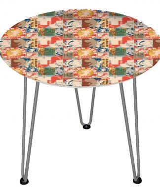 Table en bois Decorsome - Tom & Jerry - Silver chez Casa Décoration