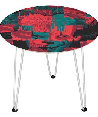 Table en bois Decorsome - Ça : Chapitre 2 - Blanc chez Casa Décoration