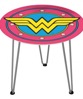 Table en bois Decorsome - Wonder Woman DC - Silver chez Casa Décoration