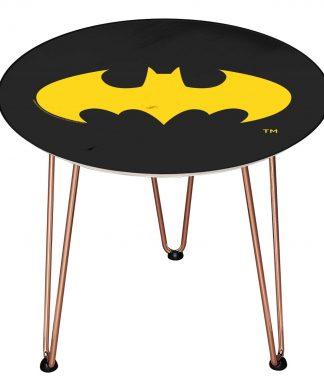 Table en bois Decorsome - Batman DC - Rose gold chez Casa Décoration