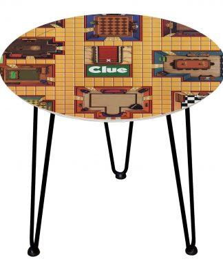 Table en bois Decorsome - Cluedo - Noir chez Casa Décoration