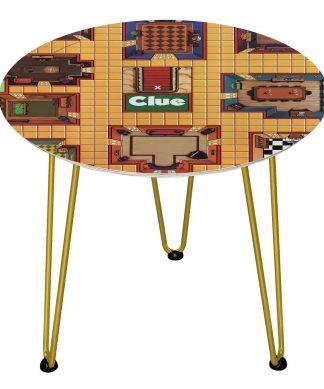 Table en bois Decorsome - Cluedo - Doré chez Casa Décoration