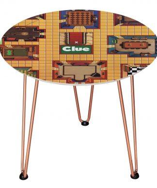 Table en bois Decorsome - Cluedo - Rose gold chez Casa Décoration
