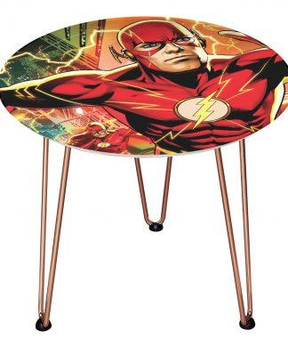 Table en bois Decorsome - The Flash DC - Rose gold chez Casa Décoration