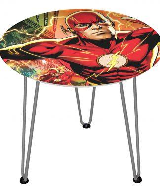 Table en bois Decorsome - The Flash DC - Silver chez Casa Décoration