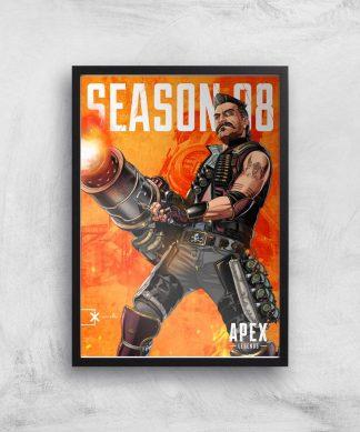 Apex Legends Fuse Giclee Art Print - A4 - Black Frame chez Casa Décoration