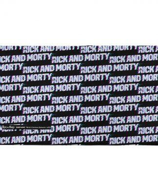 Rick and Morty Logo Pattern - Fitness Towel chez Casa Décoration