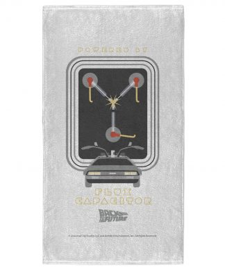 Back to the Future Flux Capacitor - Fitness Towel chez Casa Décoration