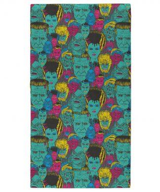 Universal Monsters Frankenstein Mixed Pattern - Fitness Towel chez Casa Décoration