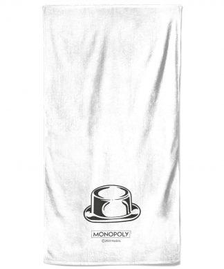 Monopoly Hat Figure Bath Towel chez Casa Décoration