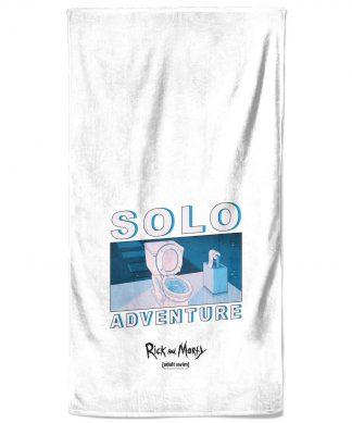 Rick and Morty Solo Adventure Bath Towel chez Casa Décoration