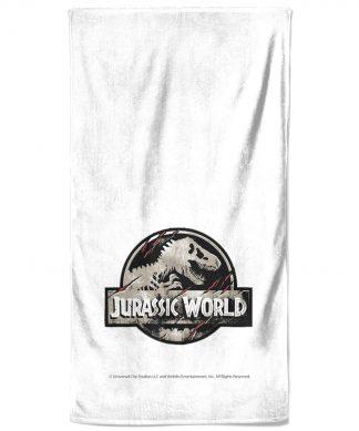 Jurassic Park Logo Bath Towel chez Casa Décoration