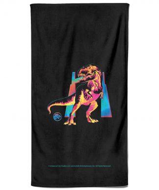 Jurassic Park TRex Bath Towel chez Casa Décoration