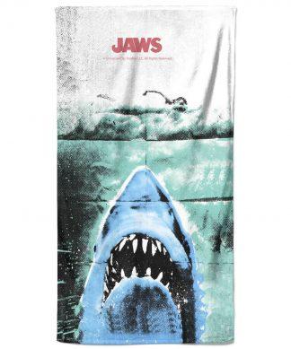Jaws Iconic Image Bath Towel chez Casa Décoration