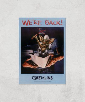 Gremlins We're Back Affiche - A3 - Print Only chez Casa Décoration