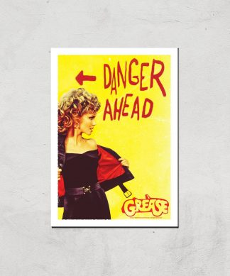 Grease Danger Road Affiche - A2 - Print Only chez Casa Décoration