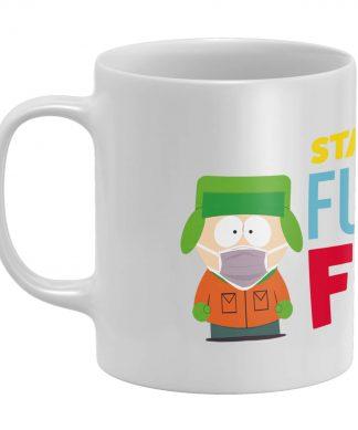 South Park Stay Back Six Feet White Mug chez Casa Décoration